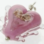 Cremation Jewelry - Heart Pendant
